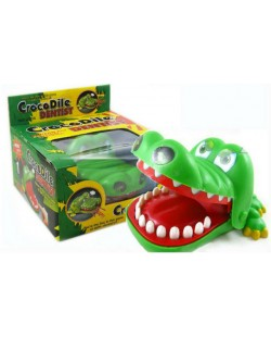 Cute Crocodile Mouth Dentist Bite Finger Game Funny Toy