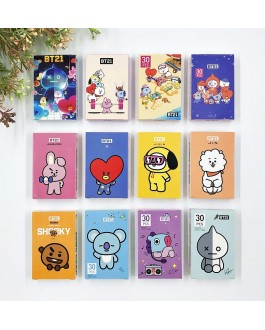 BT21 Lomo Card 30pcs