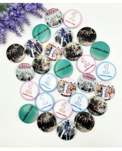 Wanna One Badge Pin Button (3PCS)