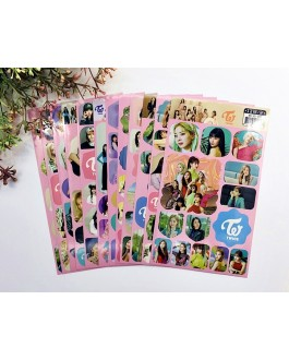 TWICE Photo Stickers (12sheets)