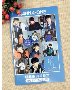 Wanna One Lyrics Book