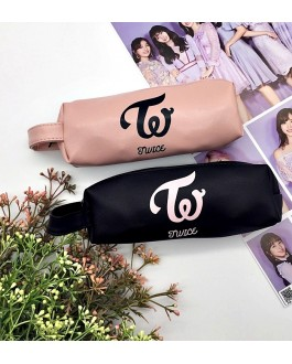 TWICE Pencil Case Pencil Box PU leather