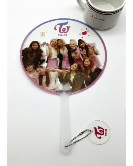 TWICE Hand Fan Transparent PVC