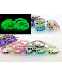BTS BLACKPINK Luminous Wristband Glow In Dark