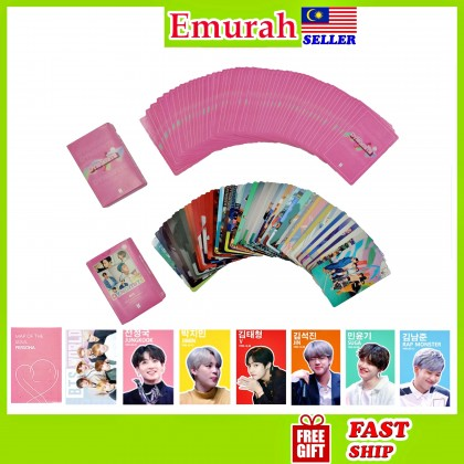 BTS Lomo Card 54pcs Dynamite Map Of The Soul 7 Persona