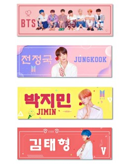 BTS Support Banner PERSONA Map Of The Soul
