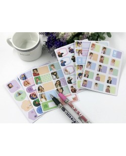 BTS BLACKPINK Sticky Note Label Sticker (5 sheet)