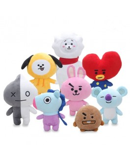BTS BT21 Stuffed Plush Doll Toy