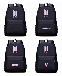 BTS Backpack School Bag