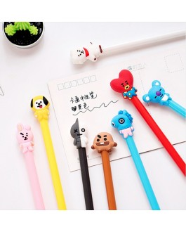 BT21 Gel Pen Cartoon Stationery