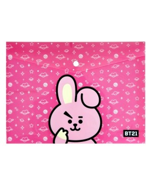 BT21 Pocket File Storage Bag File Holder