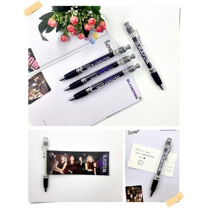 BTS BLACKPINK Gel Pen Photo Pen EXO SVT TWICE GOT7 TXT