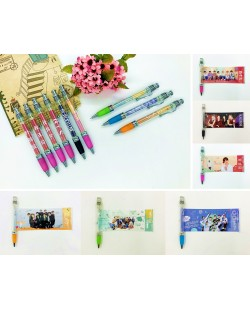 BTS BLACKPINK Gel Pen Photo Pen