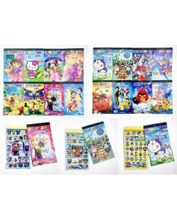 Cartoon Sticker Book
