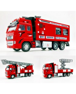 Fire Truck Fire Engine High Simulation 1:32