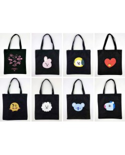 BT21 Canvas Tote Bag Casual Bag