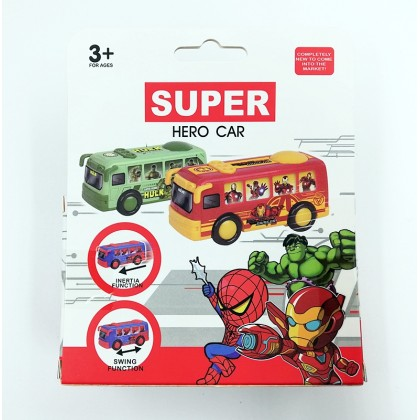 Avengers Super Hero Car Bus