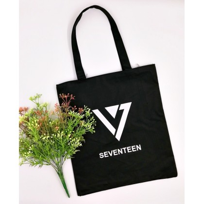 SEVENTEEN Canvas Tote Bag Casual Bag
