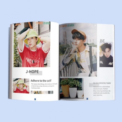 BTS Mini Photobook HD Photography MAP OF THE SOUL