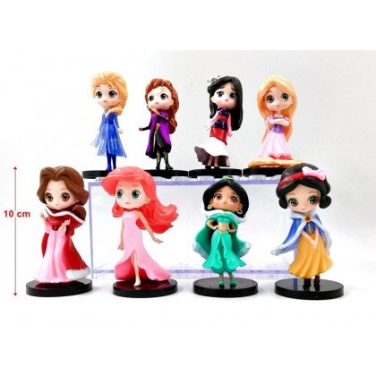 Princess Action Figure Collectible Model Set