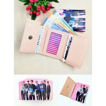 STRAY KIDS Wallet Purse 3layer