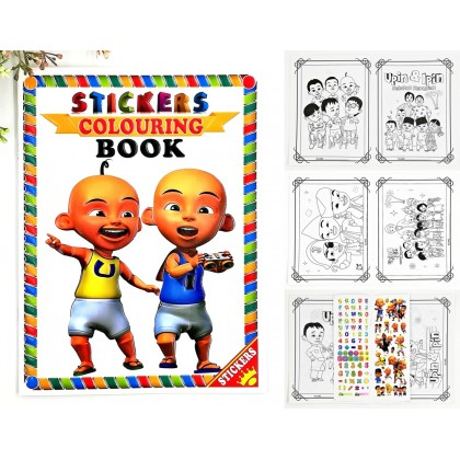 Kids Coloring Book ABC Work Book