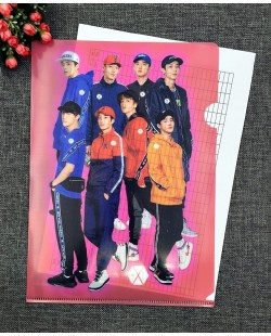 EXO A4 Size Clear File Folder - A