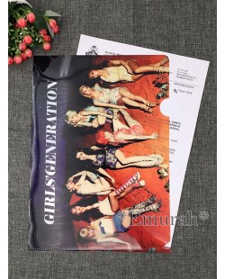 Girls Generation A4 Size Clear File Folder