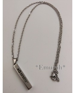 KPOP Infinite Stainless Steel Necklace