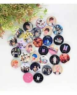 BTS Badge Button Pin (3PCS)
