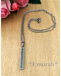 KPOP Twice Stainless Steel Necklace