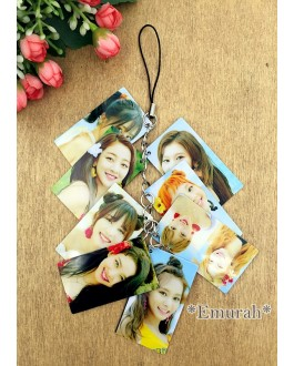 TWICE Photo Keychain Phone Pendant