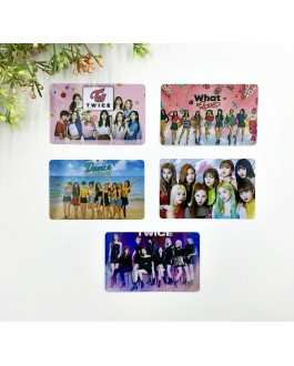 TWICE Card Sticker (2pcs)