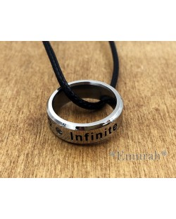 KPOP Infinite Necklace Ring