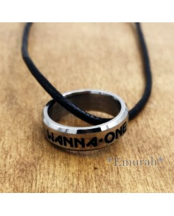 KPOP Wanna One Necklace Ring