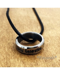 KPOP Girls Generation Necklace Ring