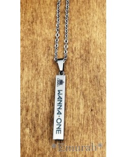 KPOP Wanna One Stainless Steel Necklace