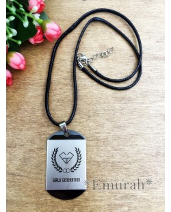 KPOP Girls Generation Square Necklace