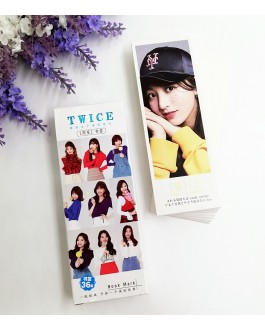 TWICE Bookmark 36pcs