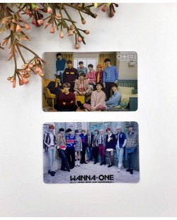 Wanna One Card Sticker (2pcs)