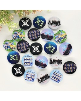 X1 Badge Pin Button (3PCS)