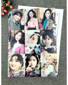 TWICE A4 Size Clear File Folder - A
