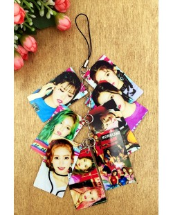 Momoland Photo Keychain Phone Pendant