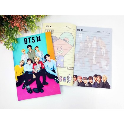 BTS Notebook 120pg MAP OF THE SOUL 7