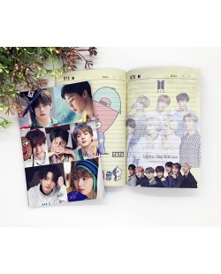 BTS Notebook 120pg
