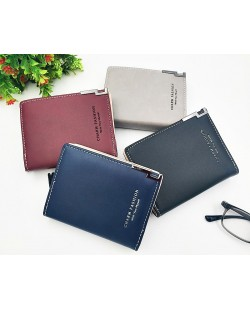 Korean Simple Fashion Women Small Purses Wallet